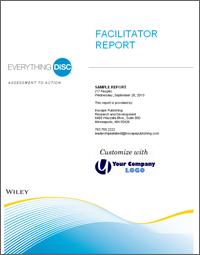 Everything DiSC Facilitator Report