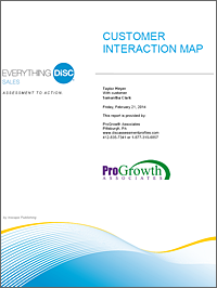Everything DiSC Sales Customer Interaction Maps
