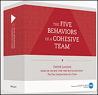 Five Behaviors of a Cohesive Team™ Profile Facilitation Kit